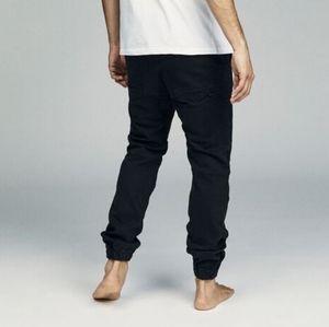 Cotton On Men's Slim Black Denim Jogger